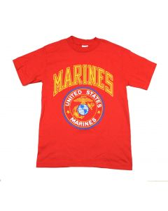 United States Marine T-Shirt Red with Seal