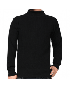 Military Style Navy GOB Deck Sweater
