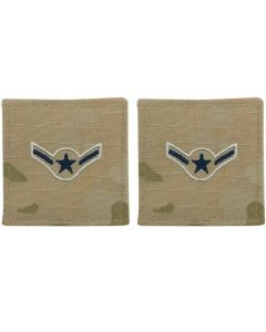 GI Space Force Embroidered Rank Airman OCP With Hook and Loop