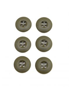 6 Pack of GI Vietnam Era Uniform OG107 Buttons