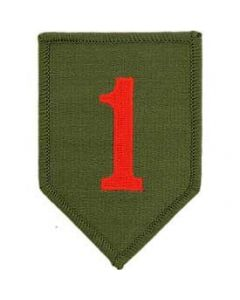 1st Infantry Division Shoulder Patch