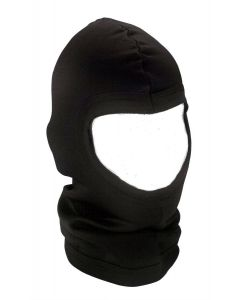 Black Military Style Polypro Balaclava Face Mask