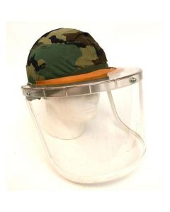 GI Riot Shield for M1 Steel Pot Helmet