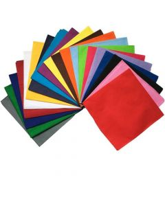3 Pack Assorted Color Bandanas