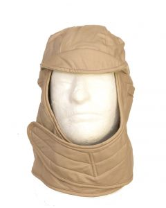 GI Cold Weather Insulated Helmet Liner Hood Tan