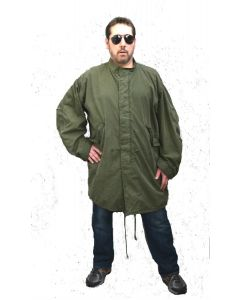 GI Extreme Cold Weather Fishtail Parka with Liner Used