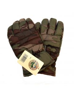 Mens Camouflage Thinsulate Gloves