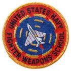 US Navy Fighter Weapons School Patch
