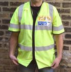 British Police Short Sleeve Reflective Overshirt
