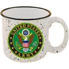 US Army Stone Speckled Coffee Cup