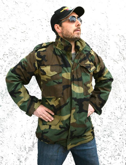 56d9e2606 US Made M65 Field Jacket Woodland Camouflage
