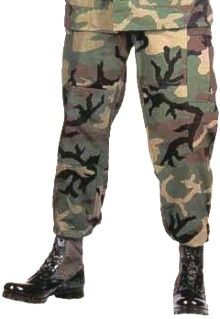wide varieties buying new great prices Military Spec BDU Pants Woodland Camo Poly/Cotton