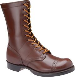 "Corcoran Mens 10"" Historic Leather Military Brown Jump Boot"