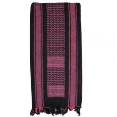 Tactical Shemagh Black and Pink