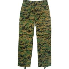 USMC Woodland Digital Pants Made in USA