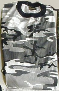 Short Sleeve Urban Camouflage T-Shirt