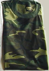 Woodland Camouflage (Short Sleeve) T-Shirt