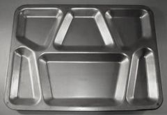 GI Military Issue New Steel Mess Tray