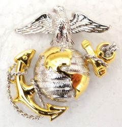Marine Corps Cap Device (Officer)