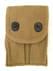 GI .45 cal WWI Ammo Pouch M-1918 Rounded Flap
