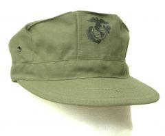 2 Pack Of OG-107 Cotton Sateen USMC Hats (X-Small)
