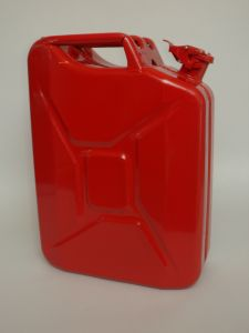 Nato Red 5 Gallon Fuel Jerry Can
