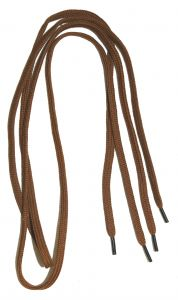 33 in. Brown Shoe laces