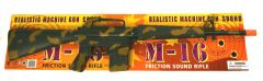 Kids Friction Sound M-16 Toy Gun with Sound Effects