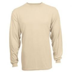 GI Desert Sand Long Sleeve Crew Neck T Shirt