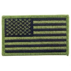 PATCH-FLAG USA,RECT.OD (SUBDUED)
