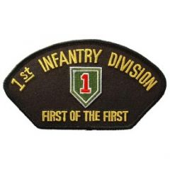 PATCH-ARMY,HAT, 1ST INFANTRY DIVISION