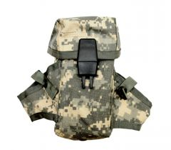 US Made ACU M16 AR15 Ammo Pouch With Grenade Wings