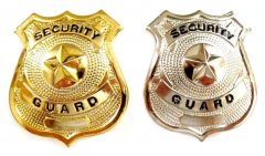 Large Security Guard Badges