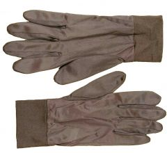 WWII Style Brown Glove Liners