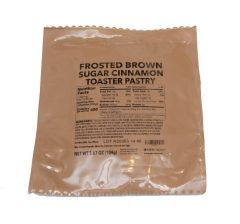 GI Ready to Eat MRE Frosted Brown Sugar Cinnamon Toaster Pastry