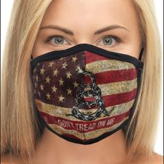 Don't Tread On Me Flag Face Mask