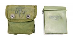GI Individual First Aid Pouch and Case Empty