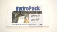 Hydro Pack Osmotic Water Filtration Pouch