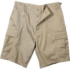 Military Style BDU Shorts