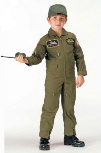 Kids Flight Suit Coverall