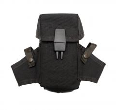 US Made Black M16 AR15 Ammo Pouch With Grenade Wings