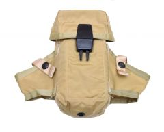 US Made Tan M16 AR15 Ammo Pouch With Grenade Wings Lightweight