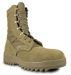 McRae Hot Weather Coyote Ripple Sole Combat Boot