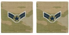 GI Space Force Embroidered Rank: Airman First Class OCP With Hook and Loop