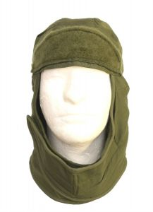 GI Cold Weather Insulated Helmet Liner Hood OD Green