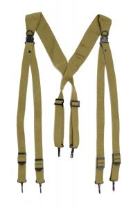 US Spec OD Green M1936 Reproduction Suspenders