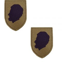 GI Army Illinois National Guard Patch Set OCP with Hook and Loop