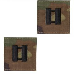 GI Army Captain Rank Pair OCP with Hook and Loop