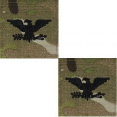 GI Army Colonel Rank Pair OCP with Hook and Loop