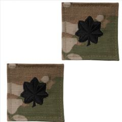 GI Army Lieutenant Colonel Rank Pair OCP with Hook and Loop